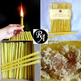 Tělové svíce Romana Art