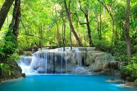 Příroda - vodopád